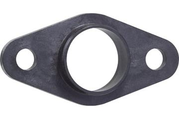 iglidur® X, two hole flange bearing, mm