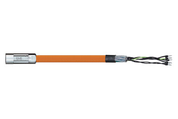 readycable® motor cable suitable for Parker iMOK45, base cable PUR 10 x d