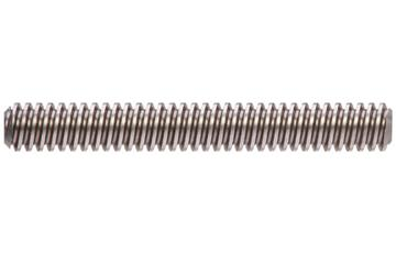drylin® trapezoidal lead screw, right-hand thread, two start, C15 1.0401 steel