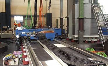 Large machining centres